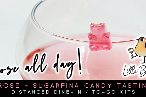 Rose All Day + Sugarfina Candy Tasting (6/17 @ 5:30)