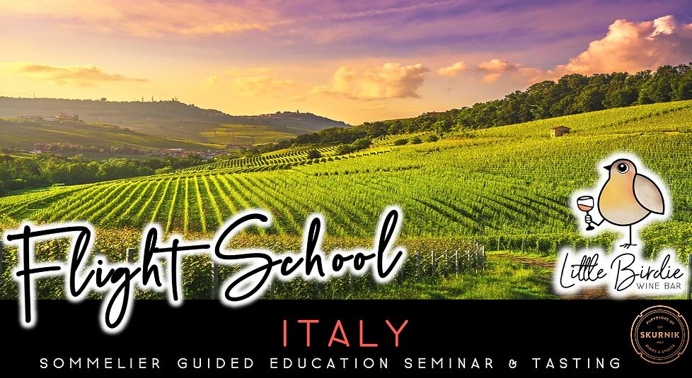 Flight School: Italy