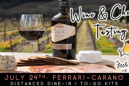 Ferrari-Carano Wine & Cheese Tasting