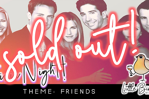 SOLD OUT: Trivia Night: Friends Theme! (9/14 @ 6:30pm)