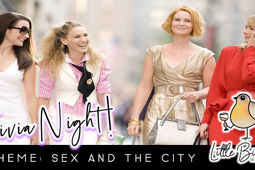 Trivia Night: Sex and the City Theme! (9/28 @ 6:30pm)