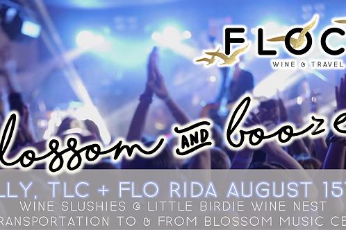 Nelly, TLC + Flo Rida | Blossom Booze Bus!