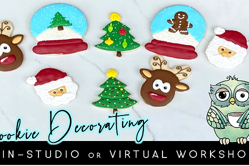 Classic Christmas Cookie Decorating Workshop (12/12 @ 1pm)