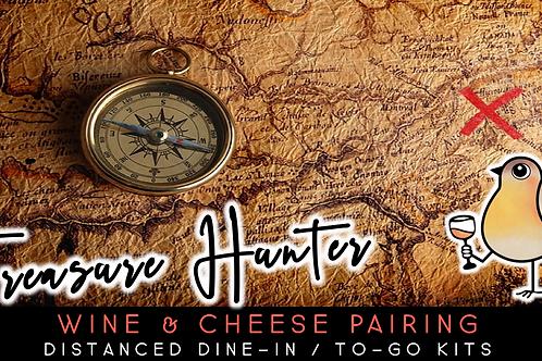 Treasure Hunter | Wine & Cheese Tasting (11/20)