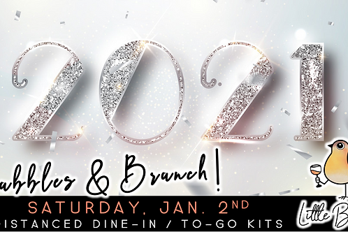 Brunch & Bubbly | 2021 Edition (1/2)