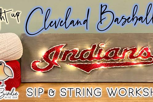 Cleveland Baseball Sip & String Workshop (8/17 @ 6pm)