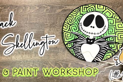 Jack Skellington Sip & Paint (10/8 @ 6pm)