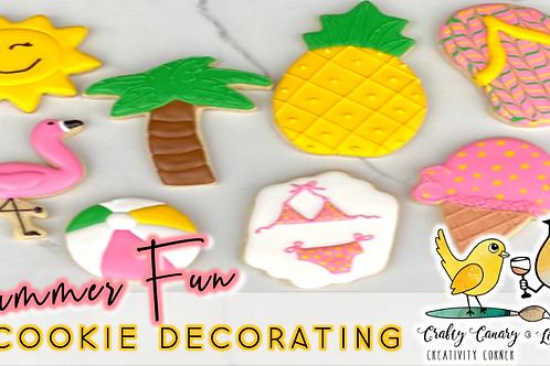 Summer Fun Cookie Decorating Workshop (8/14 @ 10am)