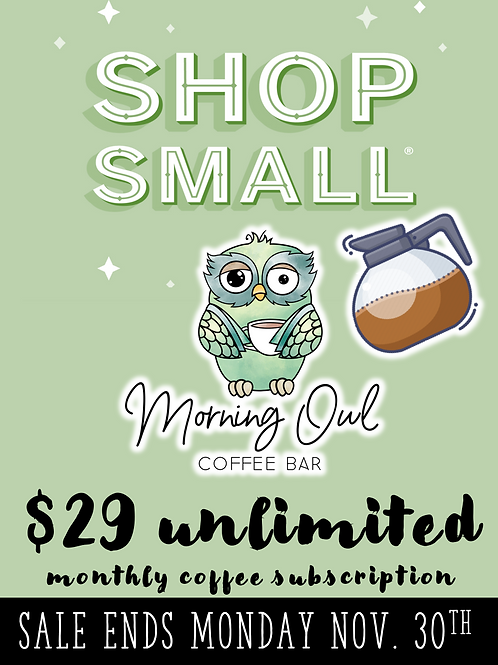 """The Drip"" Unlimited Coffee Club"