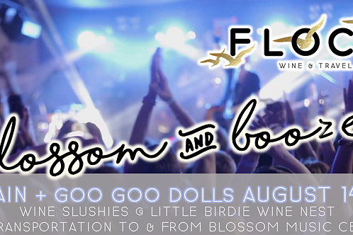 Train + Goo Goo Dolls | Blossom Booze Bus!