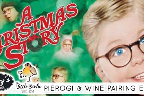 Pierogi & Wine Pairing   A Christmas Story Edition (12/5)