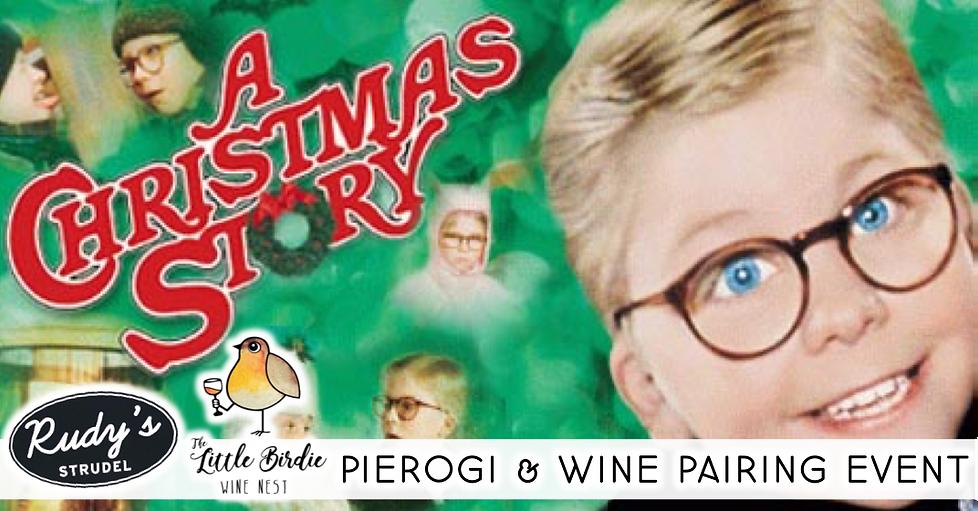 Pierogi & Wine Pairing | A Christmas Story Edition (12/5)