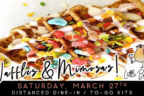 Waffles & Mimosas | Mini Waffle + Mimosa Pairing (3/27)