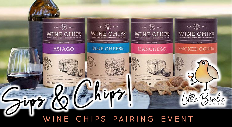 Sips & Chips | Wine Chips Pairing Event (8/13 @ 5:30pm)