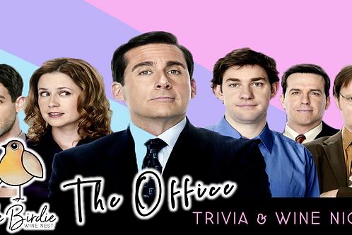 The Office | Trivia & Wine Night