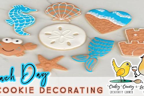 Beach Day Cookie Decorating Workshop (7/31 @ 10am)