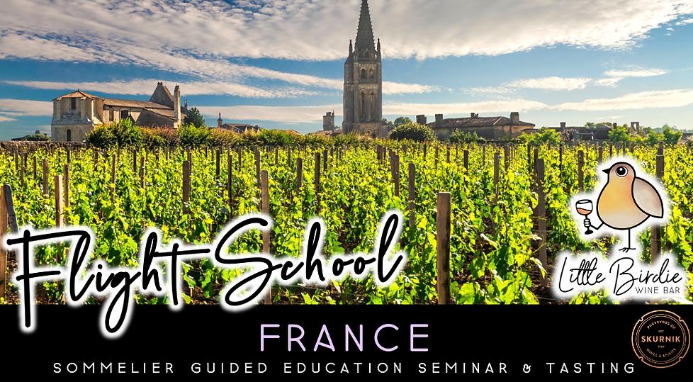 Flight School: France