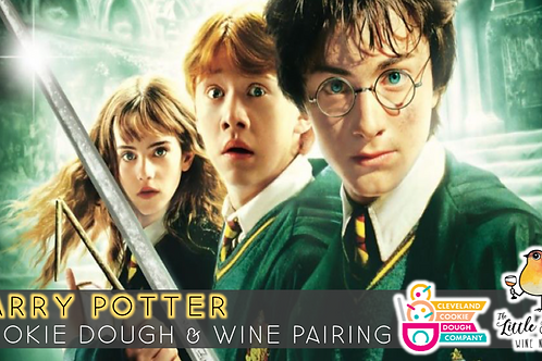 Cookie Dough & Wine Pairing | Harry Potter Edition