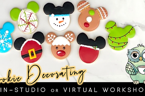 Mickey's Christmas Cookie Decorating Workshop (12/5 @ 10am)