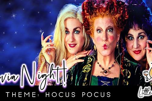 ROLLOVER: Trivia Night: Hocus Pocus Theme! (9/7 @ 6:30pm)