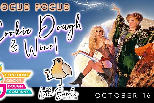 Hocus Pocus Cookie Dough & Wine Tasting (10/16)