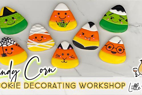 Candy Corn Cookie Decorating Workshop (10/9 @ 10am)