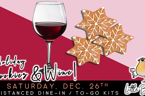 Holiday Cookies & Wine Pairing | Ugly Sweater Party! (12/26)