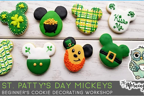 Mickey & Friends Cookie Decorating Workshop (3/13 @ 10am)