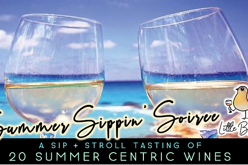Summer Sippin' Soiree (7/28 @ 6pm)