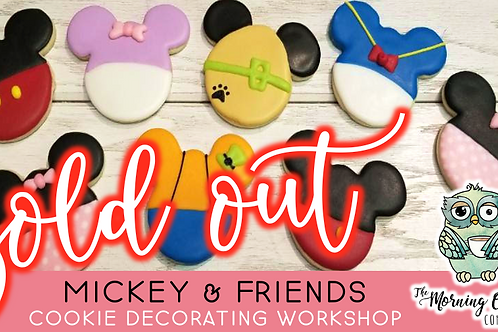 SOLD OUT: Mickey & Friends Cookie Decorating Workshop (2/20 @ 10am)