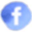 Blue Watercolour Social Media Icons - Fa