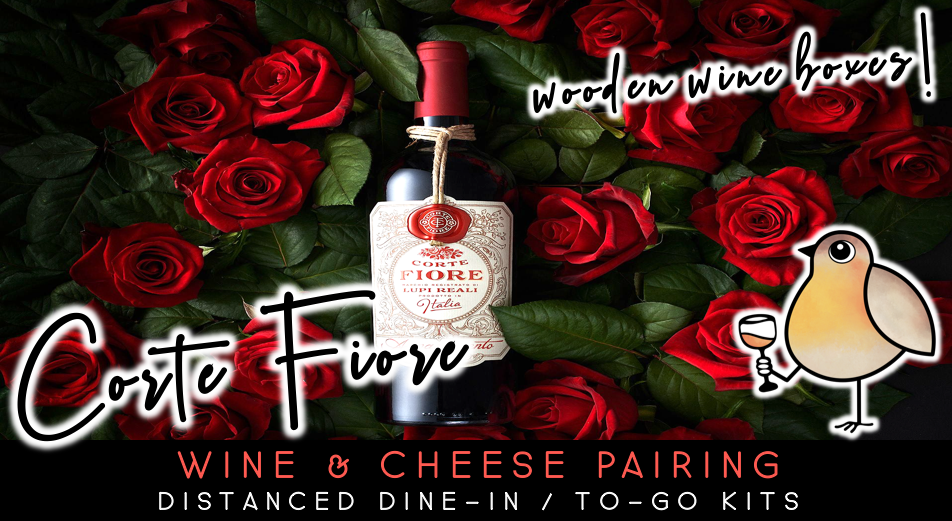 Italian & French | Wine & Cheese Tasting
