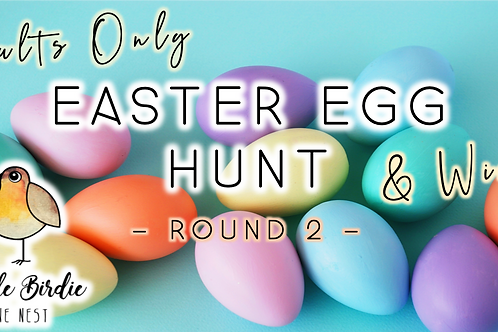 Adult Easter Egg Hunt + Wine | Round 2!  (4/11 @ 6pm)