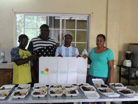 JAF Feeds Homeless in Jamaica Over the Festive Period