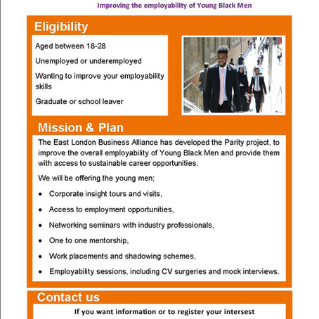 Employability Project for Young Black Men Comes to Tooting Hub