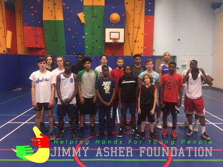 Jimmy Asher Foundation's Positive Youth Activities