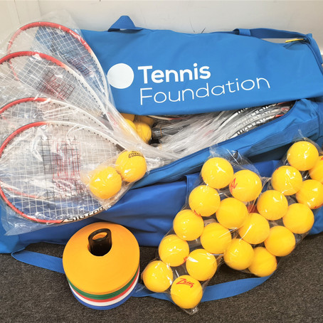 Tooting Youth Charity team up with Tennis Foundation