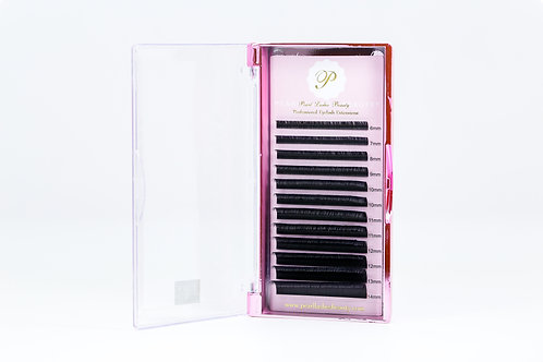 Matte Flat Mixed Lashes (C-Curl)