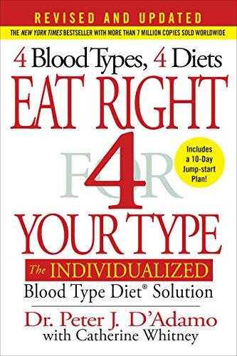Book Eat Right 4 Your Type