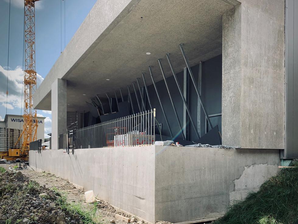 Aussenboulderanlage Kraftreaktor Lenzburg - Fertigstellung Herbst 2021