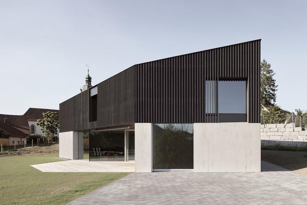Einfamilienhaus, Reinach - Fertigstellung