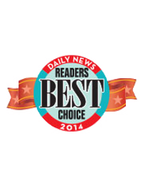 Daily News Readers Best Choice 2014 Award