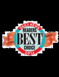 Daily News Readers Best Choice 2014 Award