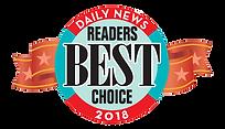 Daily News Readers Best Choice 2018 Award