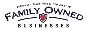 Family Owned Businesses Nevada Business Magazine Award