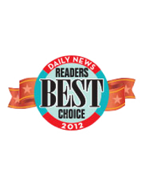 Daily News Readers Best Choice 2012 Award