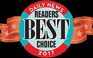 Daily News Readers Best Choice 2017 Award
