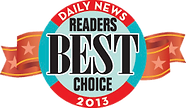 Daily News Readers Best Choice 2013 Award