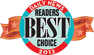 Daily News Readers Best Choice 2013 Award