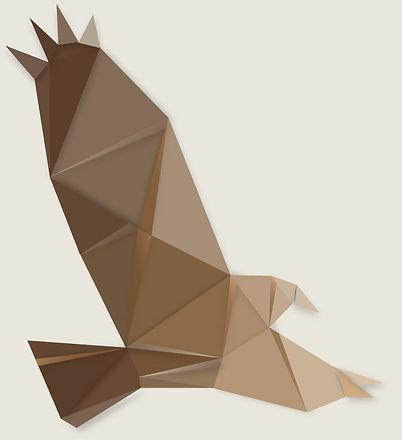 Aigle origami